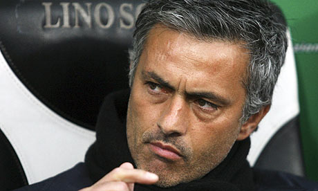 Jose Mourinho, candidato al banquillo de Inglaterra